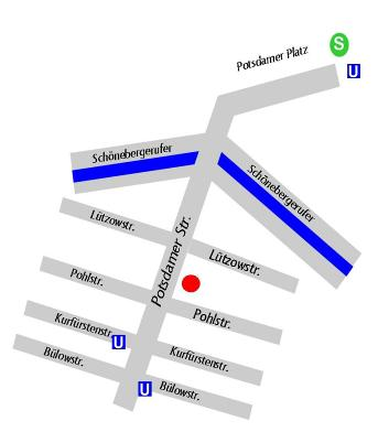 Lützow Stadtplan